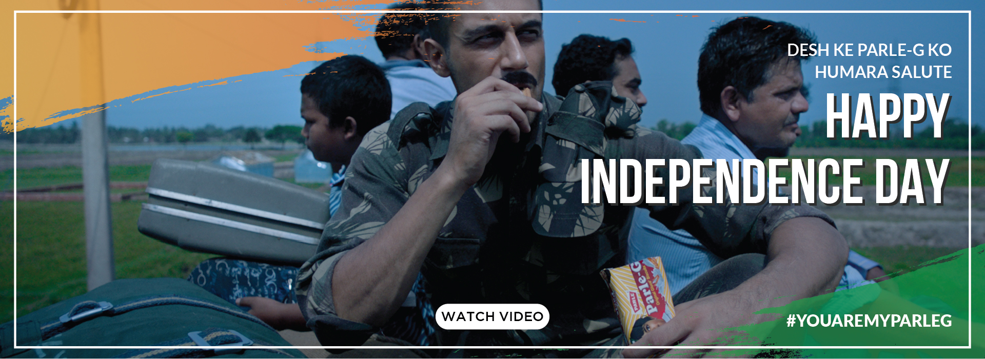 Parle-G | Independence Day Armed Forces Film
